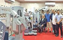 Surgical robot installed at BBCI