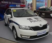 Skoda Rapid gets recruited by cops in China: New spy shots emerge