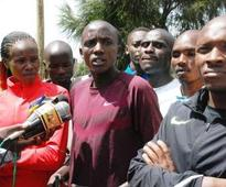 Athletes barred from training at Moi university school of law track
