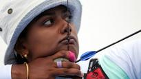 Indian team of Deepika Kumari, L Bombayla Devi, Laxmirani Majhi shock Germany at Archery World Cup