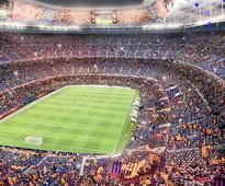 FC barcelona reveals video showcasing new camp nou stadium