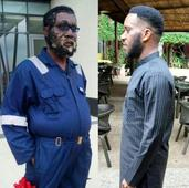 See how special effects makeup was used to transform Jay-Jay Okocha