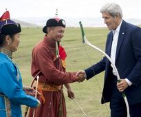 In Mongolia, Kerry seeks closer ties with democracy oasis