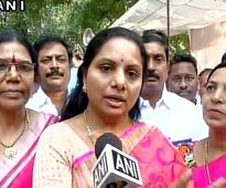 TRS K. Kavitha nominated as member of CWP