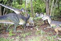 Dinosaur park offers access to lost world