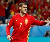 Spain striker Morata returning to Real from Juventus