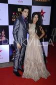 Shivangi-Mohsin aka Naira-Kartik of Yeh Rishta Kya Kehlata Hai make a gorgeous couple at the Star Screen Awards!