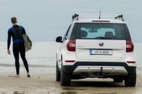 Skoda hits the beach for ad