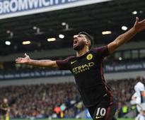 Premier League: Manchester City's Sergio Aguero hailed by teammates for his prolific goal
