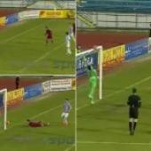CFR Cluj produce most superb miss of the season  or is it simply sensible goalkeeping?