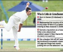 A grand debut for de Grandhomme