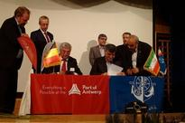 Iran and Belgium port authorities ink collaboration agreement