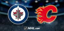 Flames down Jets in Calgary, 4-1