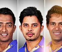 IPL spot-fixing: Sreesanth, two other Rajasthan Royals players arrested, brought to Delhi
