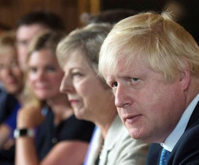 UK ministers push for Johnson to take over as PM