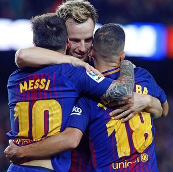 La Liga: Messi treble stretches Barca lead over wasteful Real