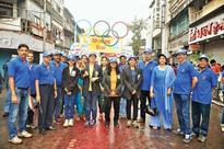 BOI officials take part in Ganpati immersion