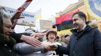 Ukrainian Opposition leader Saakashvili detained in Kiev, facing deportation