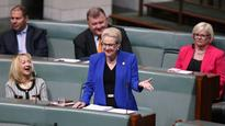 Sting in the tail: Bishop fires parting shot at Abbott