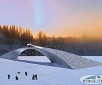 Works starts on record-breaking ice bridge