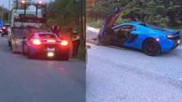 Lamborghini, McLaren Spider drivers caught going 135km/h in 60km/h zone: police