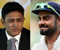 Sports: Kohli Welcomes Appointment of 'Kumble Sir' as Team India Head Coach
