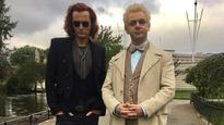 Here's how the cast of 'Good Omens' just got a tad dapper!
