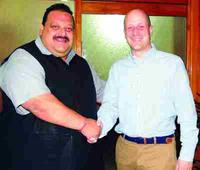 British envoy meets Rana; NC wants review on travel advisories for J&K