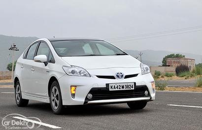 Toyota recalls 170 units of Prius in India