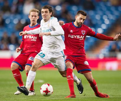 King's Cup: Second string Real Madrid held by Numancia but reach quarters