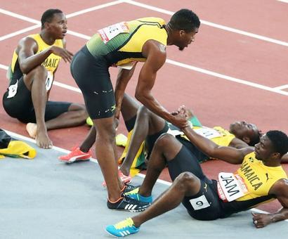 Jamaica sprinters fail to fire as England rule Gold Coast relays