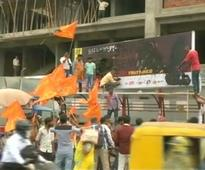Shiv Sena workers tear banners of Rahat Fateh Ali Khan's concert in Ahmedabad
