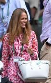 Wimbledon makes exception on 'no baby' rule as Kim Sears brings daughter Sophia to cheer on Andy Murray