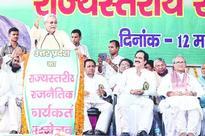 Nitish war cry on Modi turf