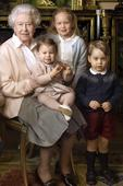 Mia Tindall steals show holding granny's handbag in Queen's birthday photograph - but who are the other grandchildren?