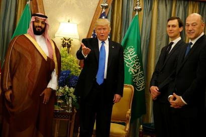 Trump signs $350-bn arms deal with Saudi Arabia