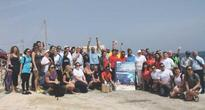 Earth Day clean-up collects waste at Armier Bay