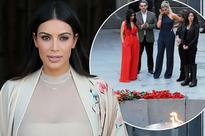 Kim Kardashian brands Wall Street Journal 'reckless and dangerous' for publishing advert denying Armenian mass killings was genocide