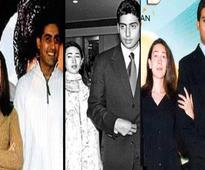 Rare pictures of Abhishek Bachchan with Karisma Kapoor