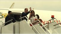 Duke and Duchess depart from Bhutan