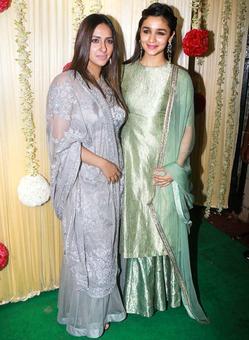 PIX: Alia, Sonam, Kriti party with Ekta