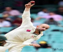 Lyon's home ton as Aussies spin Windies into trouble