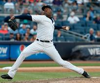 The Yankees are reportedly close to trading Aroldis Chapman as the Cubs go all-in to win the World Series