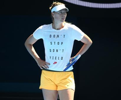 Sharapova admits to doping violation, says it was a huge mistake