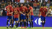 Silva double blasts Spain past Belgium