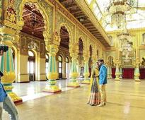 Pre-wedding photo shoot inside Mysore Palace lands officials in trouble