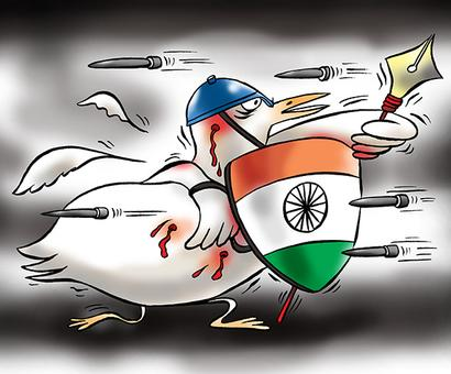Indian democracy is in the fight of its life
