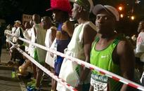 Frontrunners halfway to finish line of Comrades Marathon