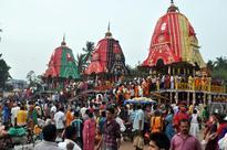 Odisha police arrest Gujarat man for climbing atop chariot in Puri
