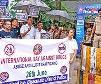 'Silent terrorism of drug abuse destroys mankind'